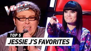 Download lagu JESSIE J'S favorite Blind Auditions EVER in The Voice