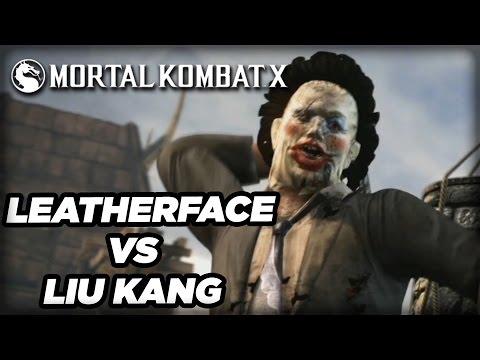 Leatherface vs Liu Kang - Official Mortal Kombat X Gameplay