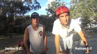 Jayden Barnes & Nathan Barnes Game Of Scoot