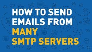 Sending mass email - multiple mail servers setup