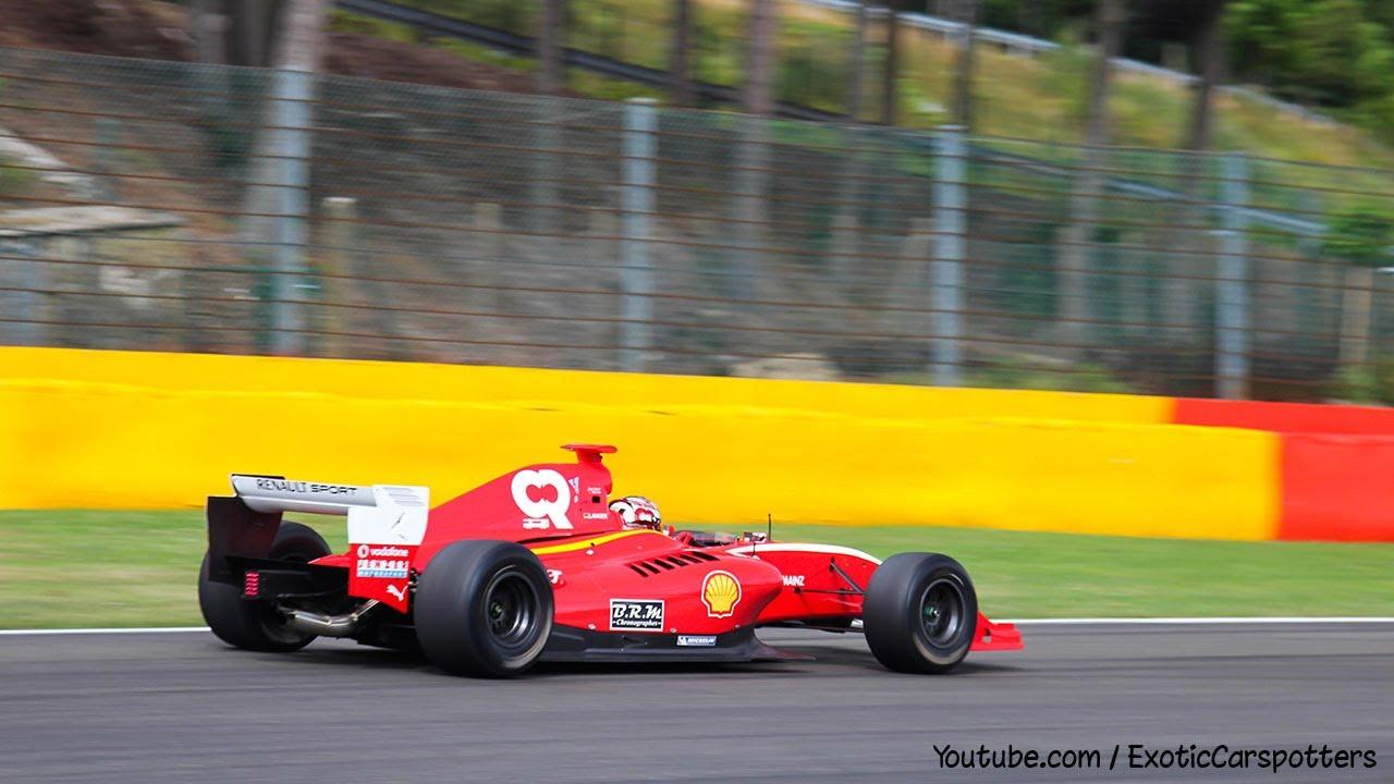 Pure Sound Formula Cars Racing At Circuit Spa Francorchamps