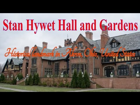 Visit Stan Hywet Hall and Gardens, Historical landmark in Akron, Ohio, United States