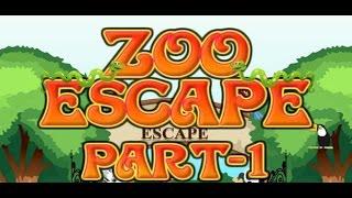 Zoo Escape 1 (Walkthrough)