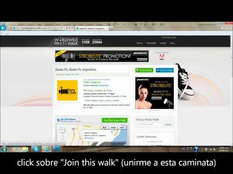 World Wide Photo Walk- Foto Club Santa Fe