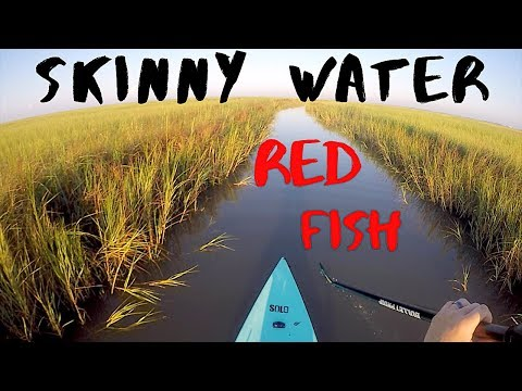 Stealthy Sight Casting REDFISH In The Solo Skiff (Sabine Pass)