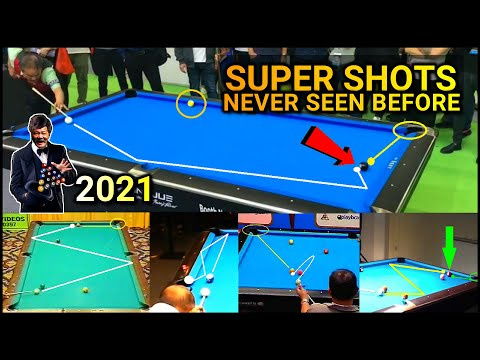 POOL SHOTS ONLY EFREN REYES CAN EXECUTE