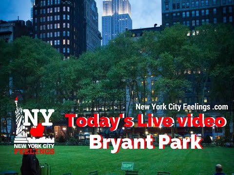 Live from Bryant Park, Manhattan, New York City