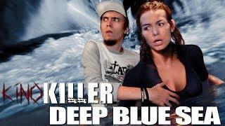 """Обзор фильма """"Глубокое Синее Море"""" (Акулы с докторской степенью) - KinoKiller"""