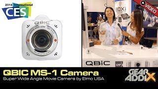 QBIC MS-1 Super Wide Angle Movie Camera by Elmo USA (CES 2014)