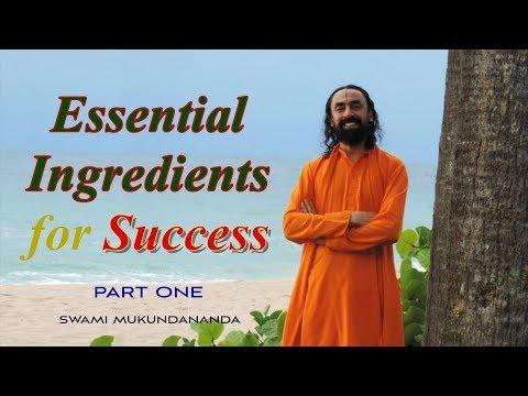 Essential Ingredients for Success Part 1 | Patanjali Yoga Sutras Part 19 | Swami Mukundananda
