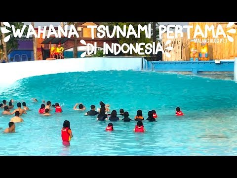 ADELVLOG #22 - WAHANA TSUNAMI PERTAMA DI INDONESIA! | Adel Ivanka