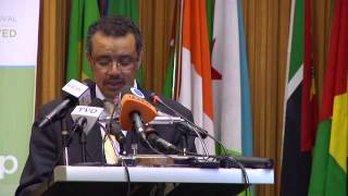 A Promised Renewed - Minister of Foreign Affairs, Ethiopia, Dr Tedros Adhanom Message
