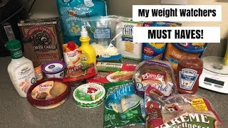 My Grocery Store MUST HAVES On Weight Watchers