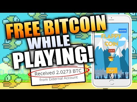 Get FREE Bitcoins While Playing FLAPPY COIN!