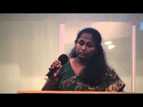 En Prema geethamam Malayalam Christian song byLois Paul at Music concert in New York