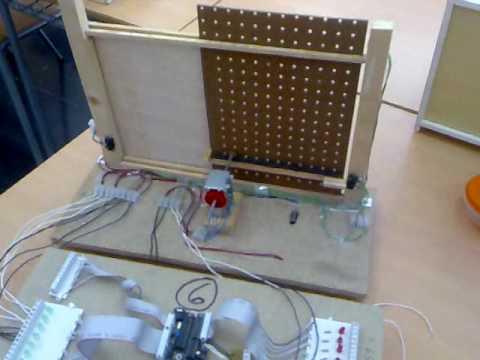 Proyecto puerta de garaje con picaxe 4 tecnologia ies - Proyecto puerta de garaje ...