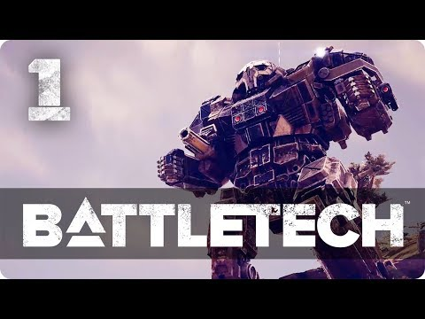 The birth of a Legend ★ Battletech 2018 Campaign Playthrough  #1