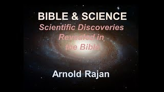 Bible and Science - Part 1