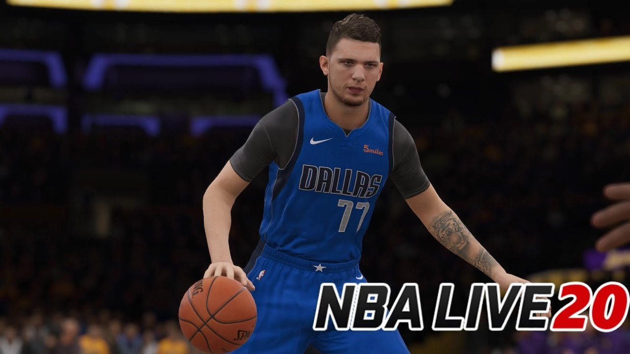 NBA Live 20 Cover Star Revealed - Mavs Rookie of the Year