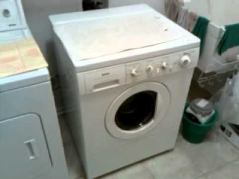 Kenmore Front Load Washer With A Bad Tub Bearing Youtube