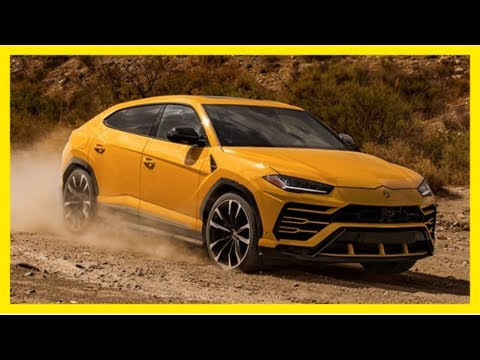 Lamborghini urus: this is what the supercar-maker's suv looks like