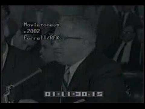 Mafia - Louis Fratto/Lew Farrell Questioned by RFK