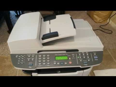 Baking the formatter board of an HP m2727nf