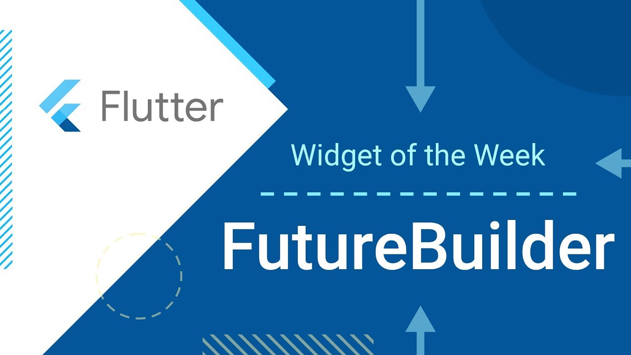 FutureBuilder (Flutter Widget of the Week)