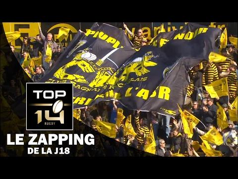 TOP 14 – Le Zapping de la J18– Saison 2016-2017