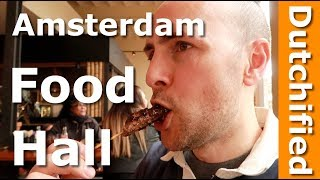 Amsterdam Food - New food hall Food Department in Magna Plaza