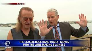 Rock band Foghat drummer creates wine