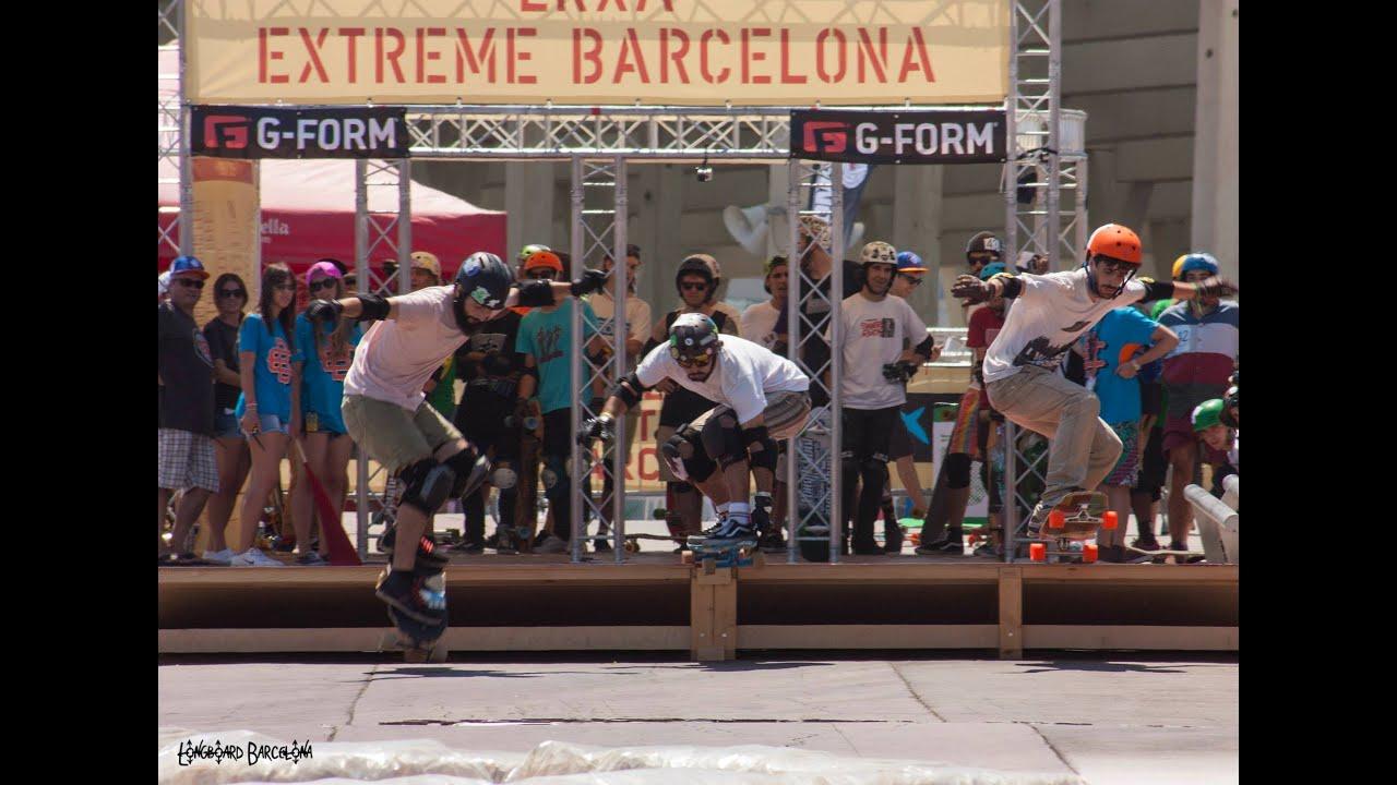 El pasado 28 y 29 de Julio se celebró la primera competición de Longboard Cross en España. 48 riders pro compitieron en carreras emocionantes de 4vs4 en un c...
