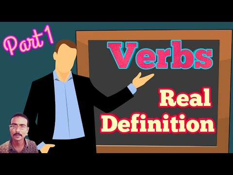 Verbs Definition And Kinds/types Part 1