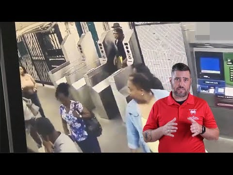 Download Brutal Subway Altercation Does Not End Well