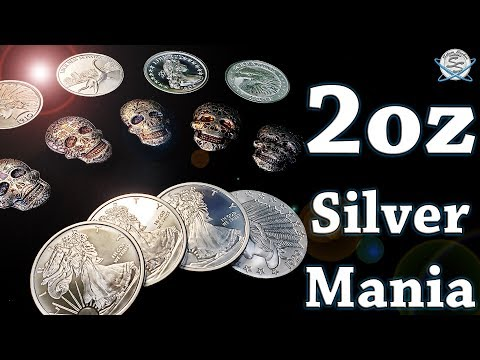 2oz SILVER MANIA Unboxing!