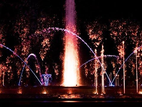 Budapest Musical Fountain - Margaret Island (Margit-sziget) * HD