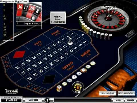 Gagner de l'argent casino roulette