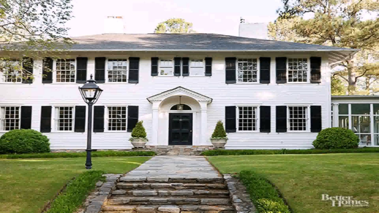 Colonial Style House Front Door Youtube