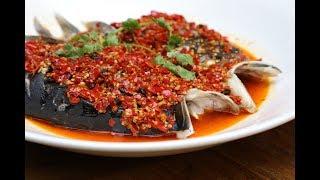美食台   剁椒鱼头,只需简单四步!