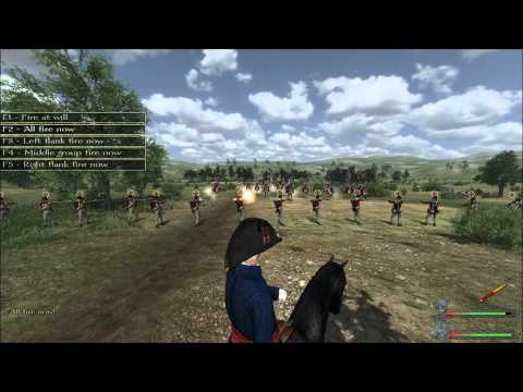 M&B Napoleonic Wars - Line infantry against cavalry