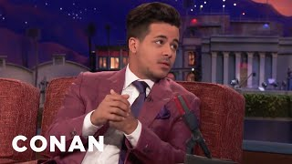Christian Navarro Got Dating Advice From Jamie Foxx  - CONAN on TBS