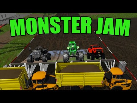 CONSTRUCTION | MONSTER JAM | TRUCKS | FARMING SIMULATOR 2017
