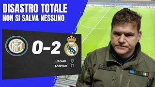 INTER-REAL MADRID 0-2 | UN DISASTRO, NON SI SALVA NESSUNO