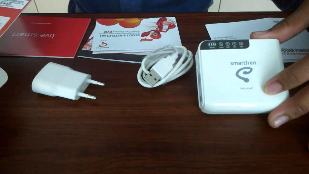 Unboxing Modem Wifi Smartfren Connex M1