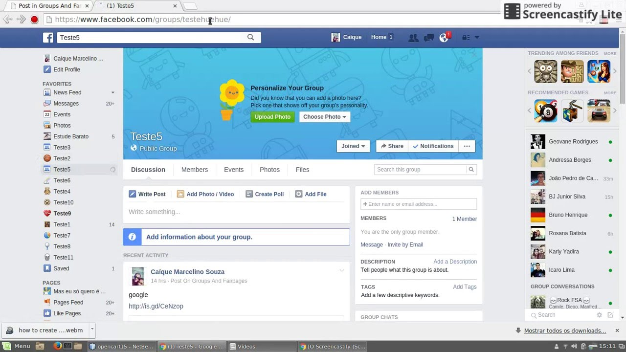 How to get Facebook group id?