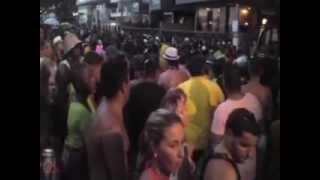 Carnaval 2013 Cabo Frio Praia do Forte Parte 3. Trios elétricos multidão de turistas show de festa