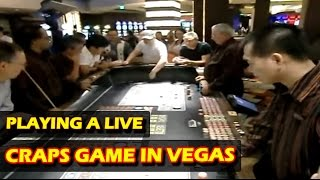 Playing A Live Craps Session In Planet Hollywood Casino - Las Vegas - Great Streak!
