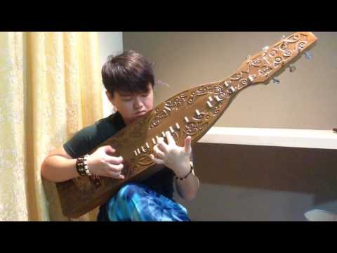 Indonesia sape testing&practise- chinese sape player from Borneo#culture lover