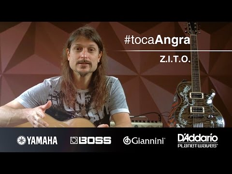#TocaAngra   Z.I.T.O. - Angra (aula de violão)