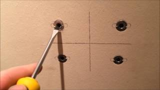 How to: Remove Wall Anchors In Less than One Minute!
